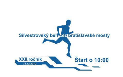 Silvestrovský beh cez bratislavské mosty
