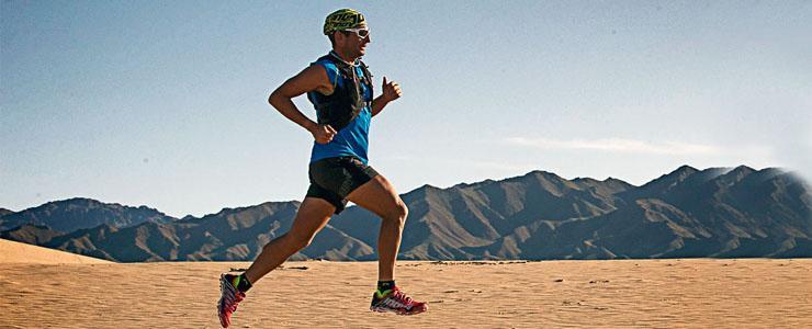 To je borec! Kanaďan Ray Zahab prebehol púšť Gobi