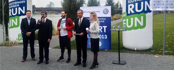 Na nábreží Dunaja otvorili prvú certifikovanú bežeckú trať