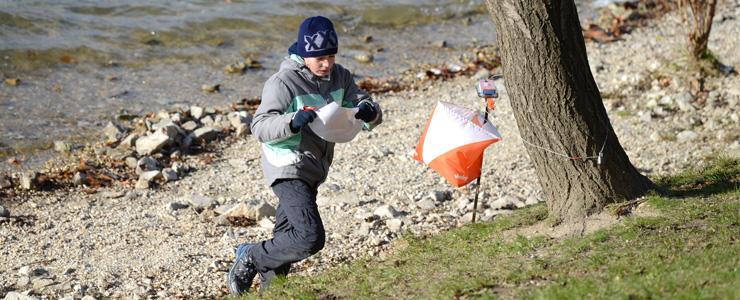 Mikulášske preteky v orientačnom behu: Obrazom