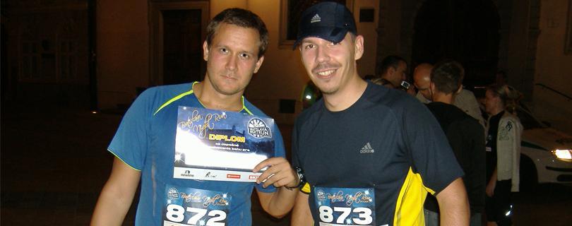 Night Run je lavína endorfínov, vraví 30-ročný Bratislavčan