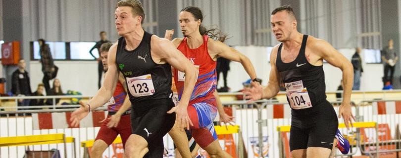 Volko začal víťazne halovú sezónu na 60 m, zlepšil sa o desatinu