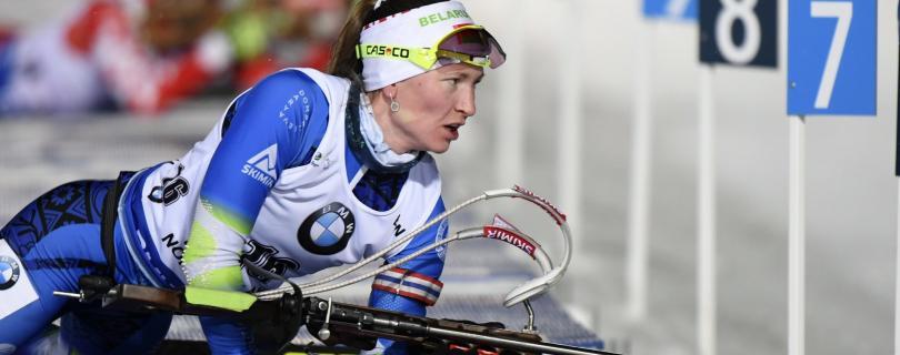 Domračevová víťazne v šprinte v Kontiolahti, najlepšou Slovenkou 14. Ivona Fialková