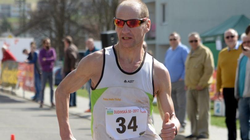 Ultravytrvalec Peter Tichý na 70. mieste na MS v behu na 100 km