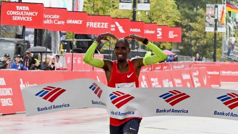 Farah vyhral maratón v Chicagu v európskom rekorde