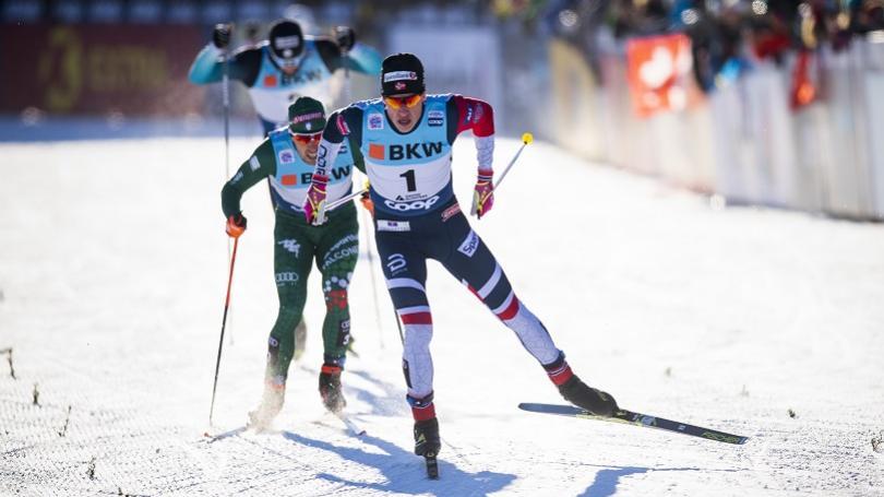 VIDEO: Klaebo a Nilssonová víťazmi šprintu v Toblachu