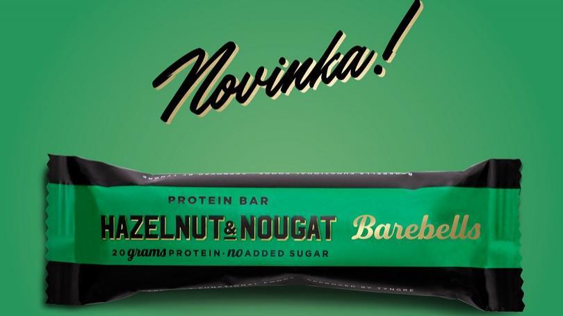 Nový rok, nová príchuť. Vyskúšajte tyčinku Barebells Lieskový orech & Nugát!
