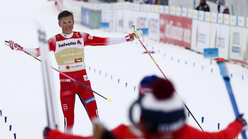 VIDEO: Nóri triumfovali v štafete, Klaebo získal v Seefelde tretie zlato