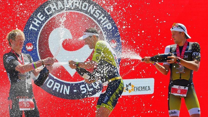 VIDEO: The Championship preveril sily najväčších hviezd triatlonu