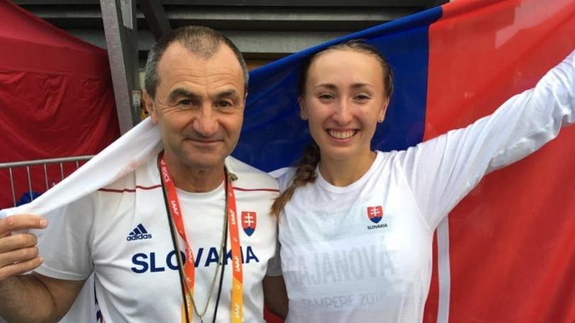 VIDEO: Talentovaná Gajanová v Prahe druhá, splnila limit na MS v Dauhe