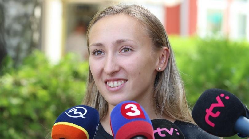 VIDEO: Bola to úžasná skúsenosť, povedala Gajanová po svojom premiérovom štarte na mítingu Diamantovej ligy v Lausanne