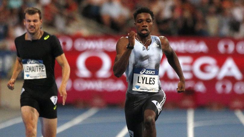 Lyles na DL v Paríži zdolal na 200 m Gulijeva o 36 stotín, Warholm naďalej bez prehry
