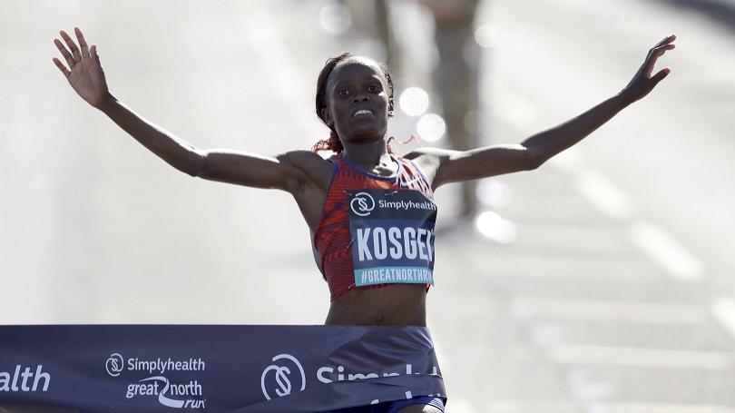 Kosgeiová zlepšila svetový rekord v polmaratóne, IAAF ho neuzná