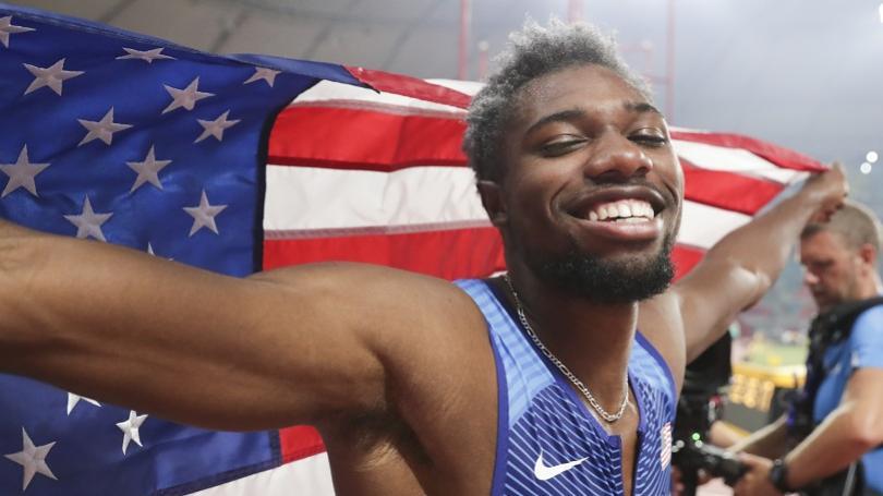 VIDEO: Lyles si trúfa na Boltove rekordy. Gatlin ho nazval rockovou hviezdou