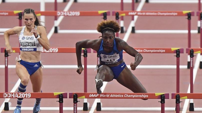 MS: Škvarková skončila 6. v I. rozbehu na 100 m prekážok a nepostúpila do semifinále