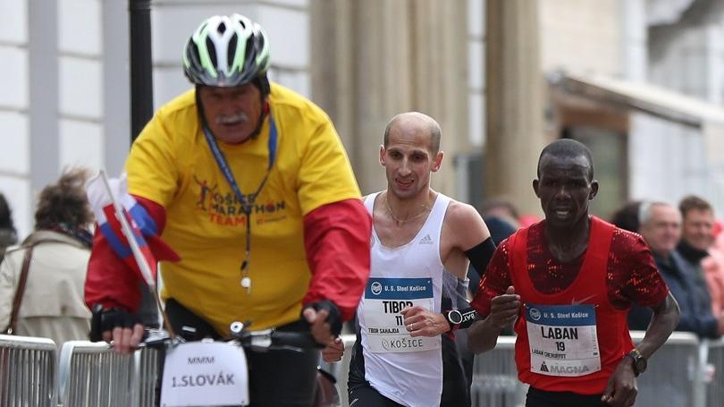 MMM: V Košiciach triumf Keňana Kipsamba, Sahajda majstrom SR v osobnom rekorde 2:15:25