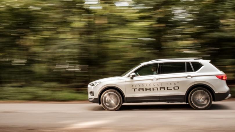 Seat Tarraco 2,0 TSI 4Drive: Španiel do terénu odvezie siedmich. Avkomforte limuzíny
