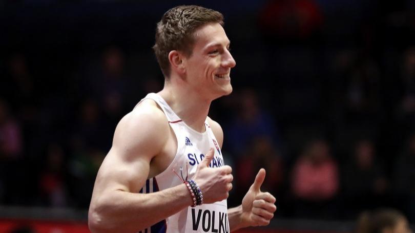 Volko vyhral šesťdesiatku na mítingu v Toruni, tesne mu ušiel rekord SR
