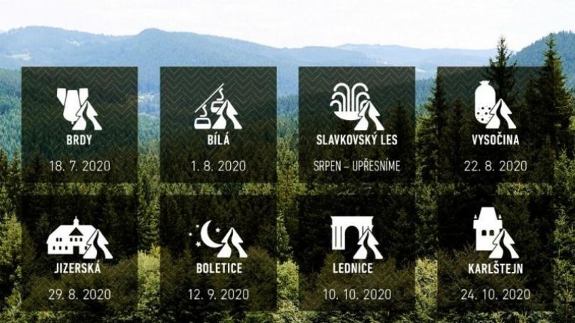 Seriál Běhej lesy pre epidémiu presúva preteky