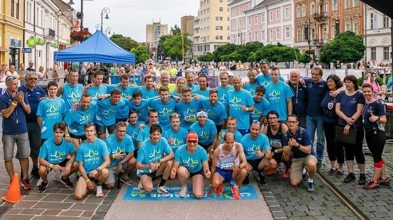 FOTO: Štafeta prekonala Štefkov slovenský maratónsky rekord