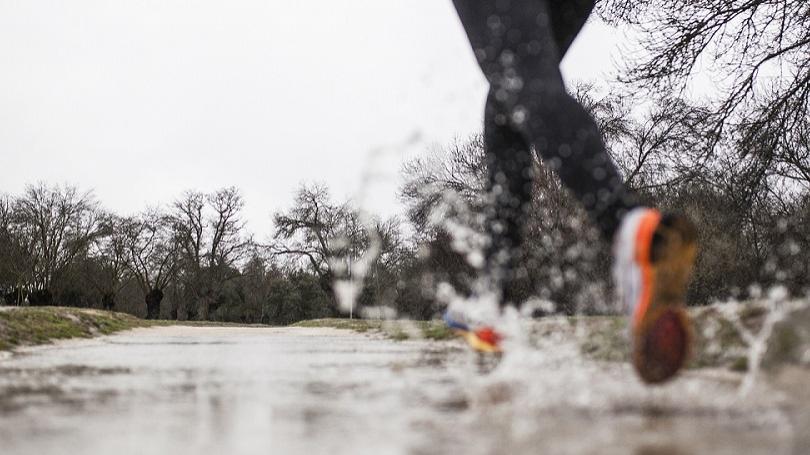 Beh v daždi: Po behu hneď do sprchy a do suchého
