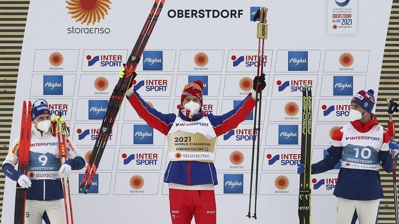 Johaugová a Boľšunov získali zlaté medaily v sobotňajšom skiatlone
