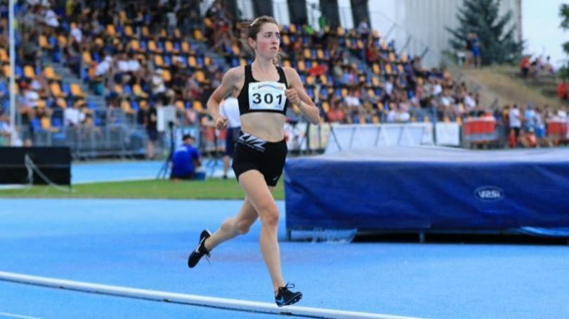 MEJ: Slovenská atlétka Líza Hazuchová 14. na 3000 m