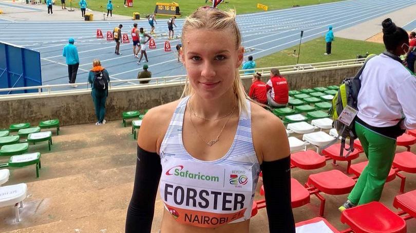 Viktória Forster vo finále stovky šiesta, len tri stotinky od bronzu