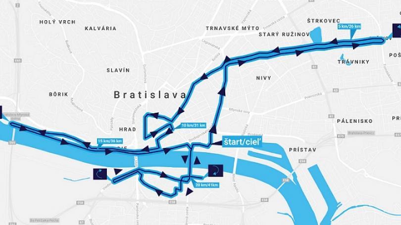 Bratislavaský maratón sa pobeží na novej trati, súčasťou aj polmaratónske majstrovstvá Slovenska