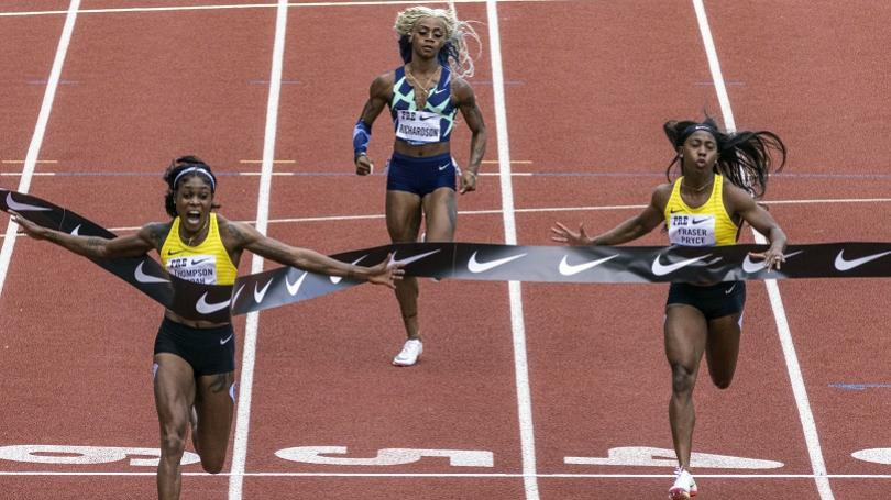 Olympijská šampiónka z Tokia už veľmi blízko svetového rekordu na stovke. Oslavovať bude, až keď splní misiu