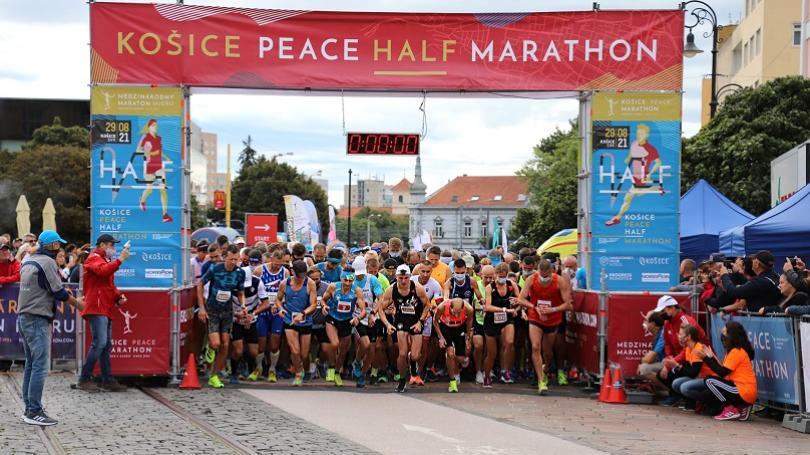 Košice Peace Half Marathon vyhrali Sahajda a Šimková