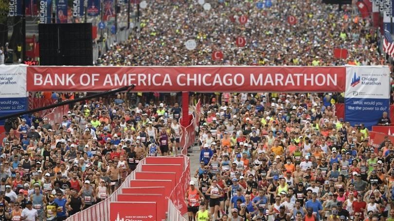 FOTO: Maratón v Chicagu vyhrali Tura a Chepngetichová